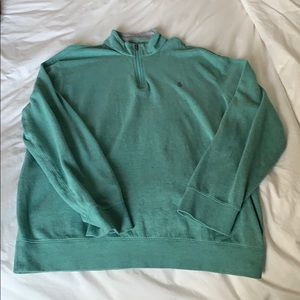 Green POLO half-zip